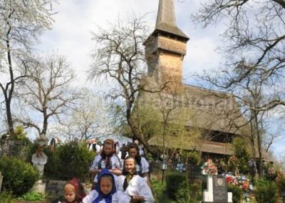 Felician_Sateanu - Intoarcerea de la biserica - Desesti