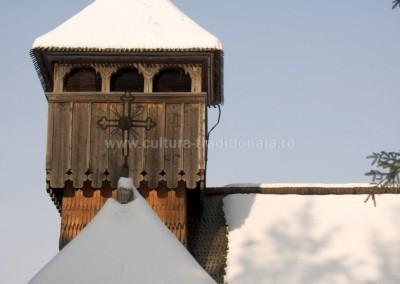 Gheorghe_Petrila - Turla bisericii - Viseu de Sus