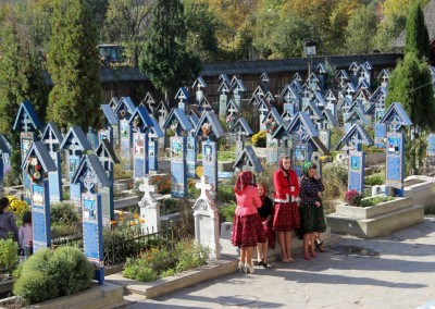 Nicolae Hauca - Cimitirul vesel - Sapanta