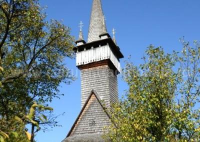 Vasile Timur Chis - Biserica de lemn - Apsa de Jos (Ucraina)
