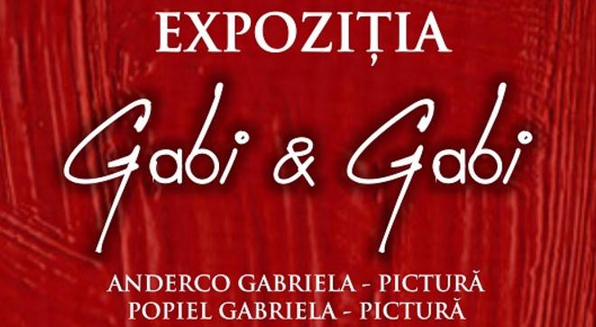 """Expoziţia """"Gabi & Gabi"""""""