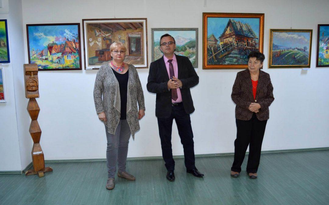 """Salonul de primăvară al membrilor Asociaţiei Artiştilor Plastici """"Alexandru Şainelic"""""""