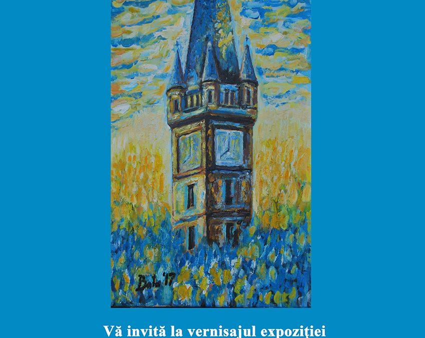 """Vernisajul expoziţiei """"TURNUL ALBASTRU"""" – Ioan Vasile BOTA"""