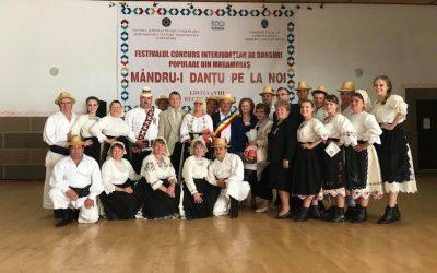 """Premiile Festivalului Concurs Interjudeţean de Folclor """"MÂNDRU-I DANŢU PE LA NOI"""" 2018"""
