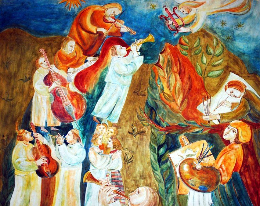 Elevii admiși la secția Școala Populară de Arte Liviu Borlan